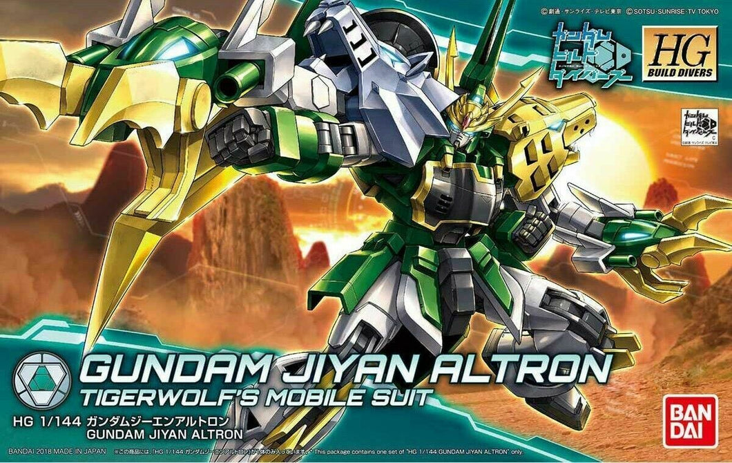 Bandai Hobby Jiyan Altron HG Gundam Build Divers Model Kit 1/144 Scale