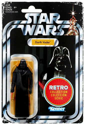 Star Wars A New Hope Retro Collection Darth Vader Action Figure