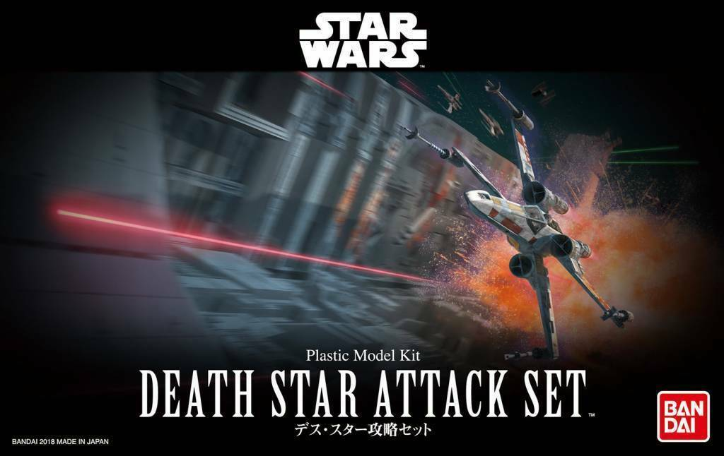 Bandai Star Wars Death Star Attack Set Model Kit 1/144 Scale