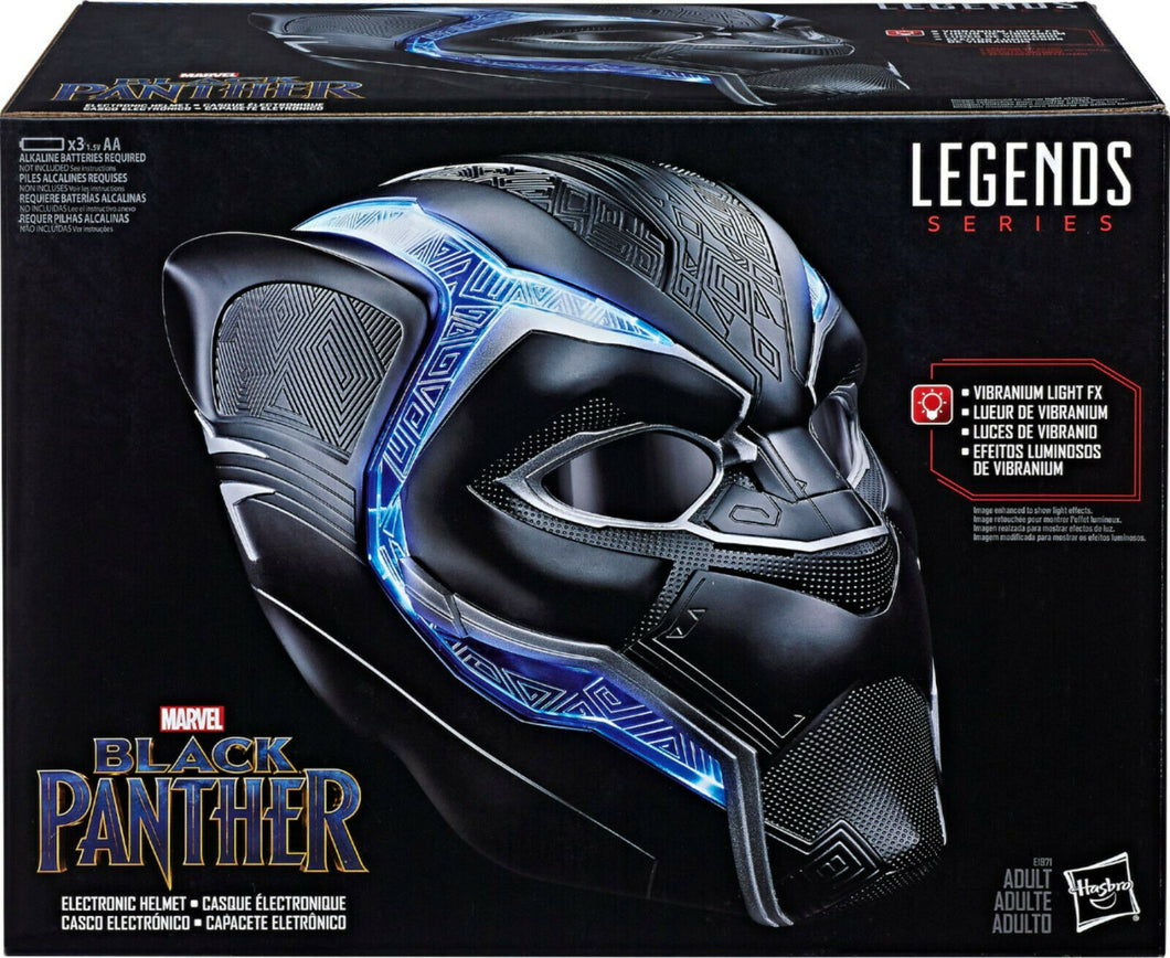 Marvel Legends Series Black Panther Electronic Helmet Hasbro