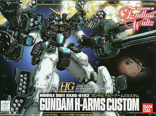 Bandai Gundam EW-03 #3 Heavyarms Custom 1/144 High Grade HG Model Kit