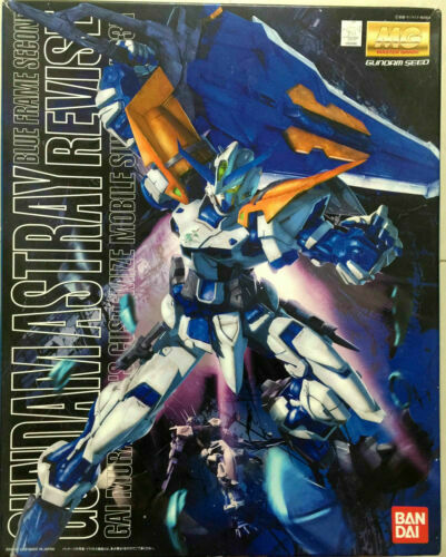 Bandai Gundam Astray Blue Frame Second Revise MG Model Kit 1/100 Scale