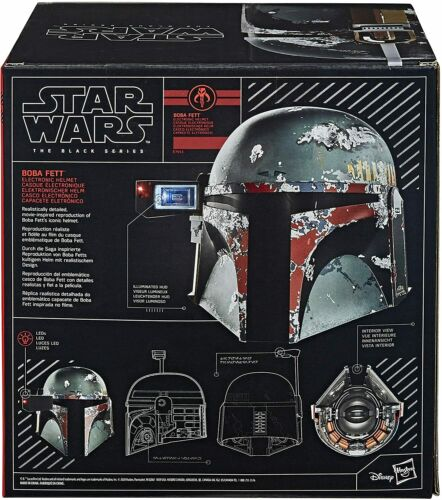 Star Wars the Black Series Boba Fett Electronic Helmet 1:1 Scale Wearable Helmet