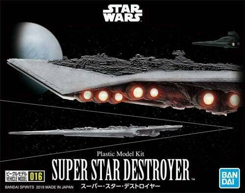 Bandai Star Wars Super Star Destroyer Model Kit Vehicle Model 016