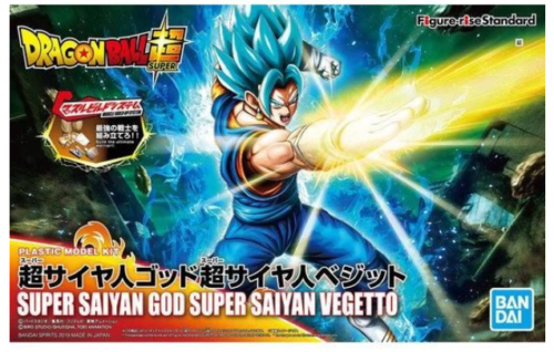 Bandai Figure-Rise Standard Dragon Ball Super Saiyan God SS Vegetto Model Hobby Kit