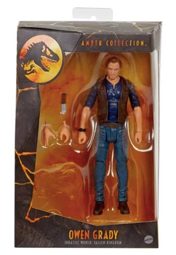 Jurassic World Amber Collection Owen Grady Action Figure 6 Inch