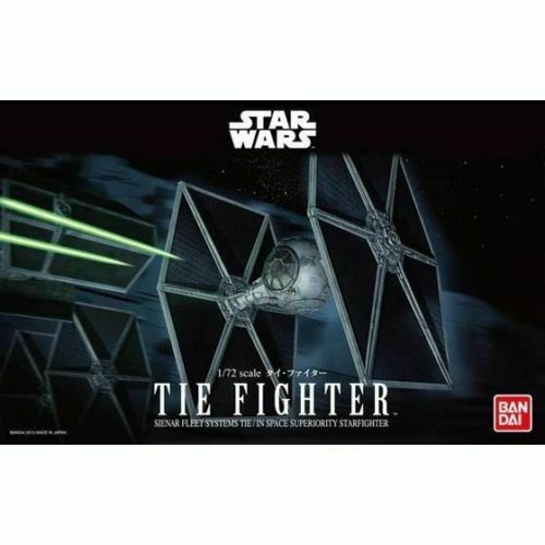 Bandai Hobby Star Wars Tie Fighter 1/72 Scale Model Kit Return of the Jedi