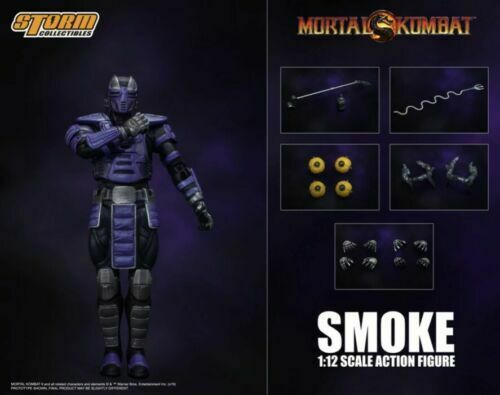 Storm Collectibles Smoke Action Figure NY Comic Con 2019 Mortal Kombat