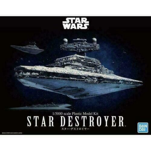 Bandai Star Wars Star Destroyer 1/5000 Scale Model Kit