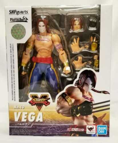 SH Figuarts Vega Action Figure Street Fighter No. 10 Bandai Tamashi Nations