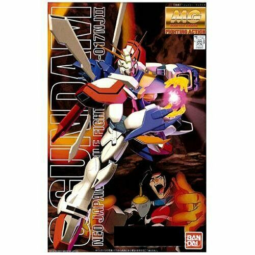 Bandai Hobby MG God Gundam G Gundam MG Model Kit 1/100 Scale #110 GF13-017NJII