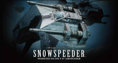 Bandai Hobby Star Wars Snowspeeder 1/48 Scale Model Kit