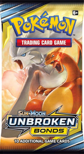 Pokemon TCG Sun & Moon Unbroken Bonds Booster Packs