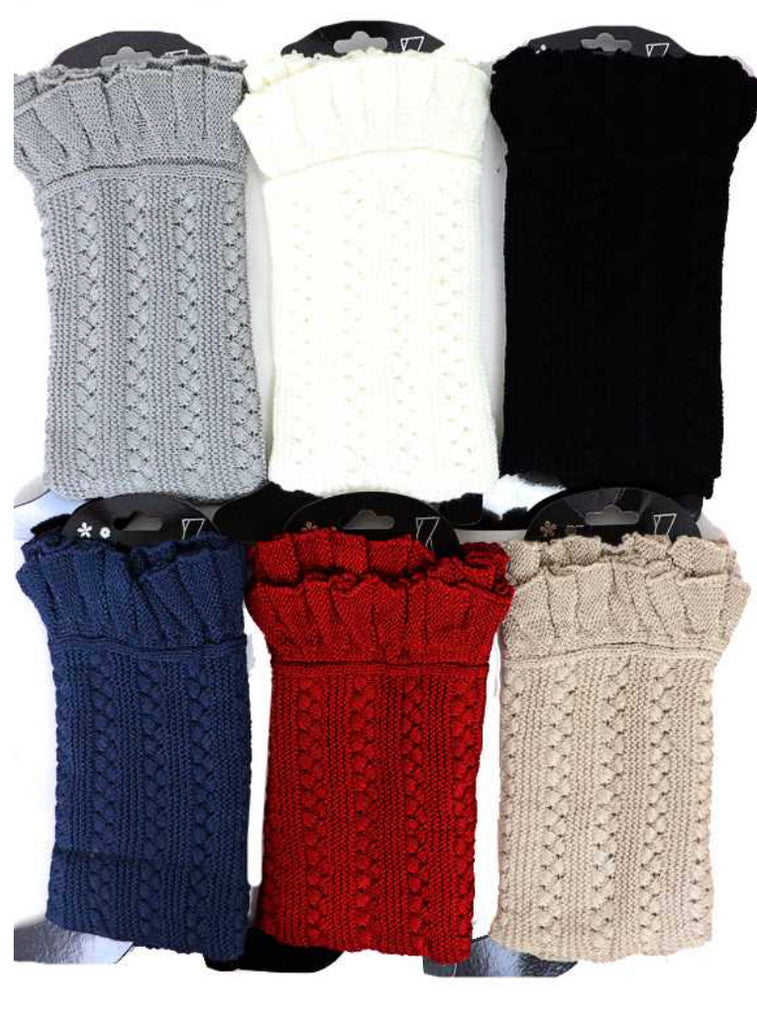Ribbed Knit Pattern leg warmers