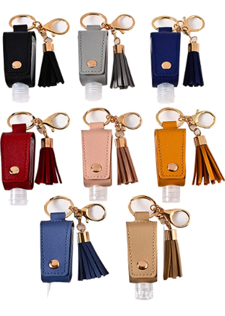 Sanitizer holder keychain