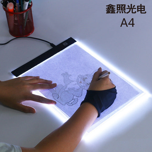 LED Light Box A4 Drawing Tablet Graphic Writing Digital Tracer Copy Pad Board for Diamond Painting Sketch Wholesale