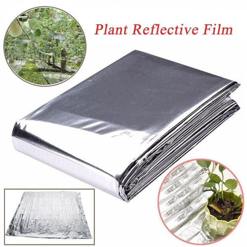 Reflective Film for Plants Garden Greenhouse Covering Foil Sheets Trees Grapes Increasing Temperature Light 210x120cm