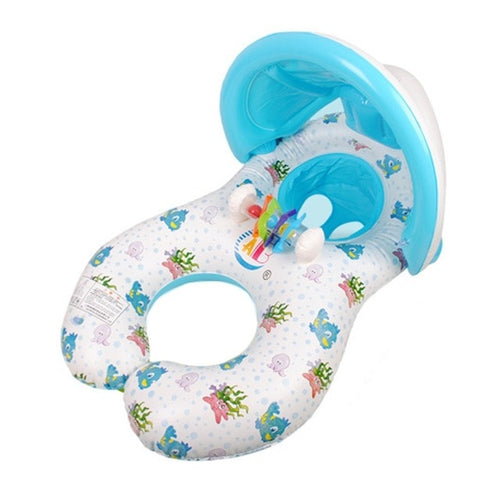 Baby Inflatable Swimming Ring Kids Summer Swimming Pool Swan Swim Float Water Fun Pool Toys Swim Ring Seat Boat Sport for 3-6Y