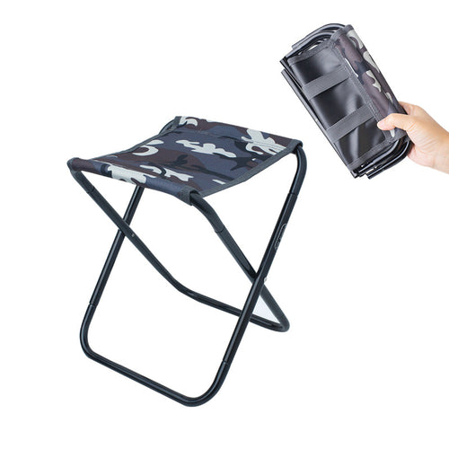 Mini Outdoor Camping Picnic Folding Stool Waterproof Fishing Hunting Barbecue Chair Load Bearing 100kg