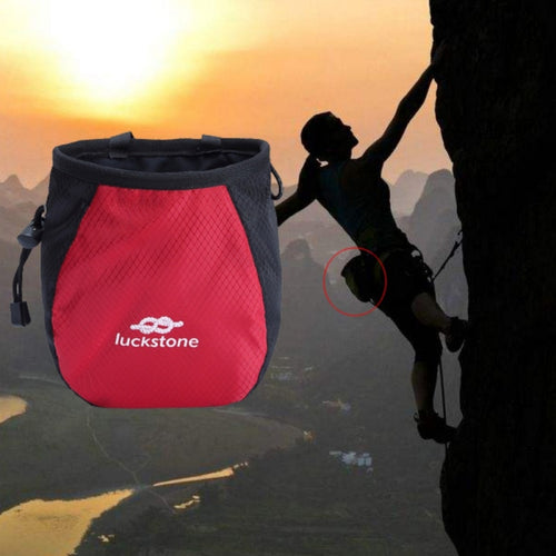 Climbing Chalk Bag Magnesium Powder Storage Pouch escalada equipement with Drawstring Waist Belt