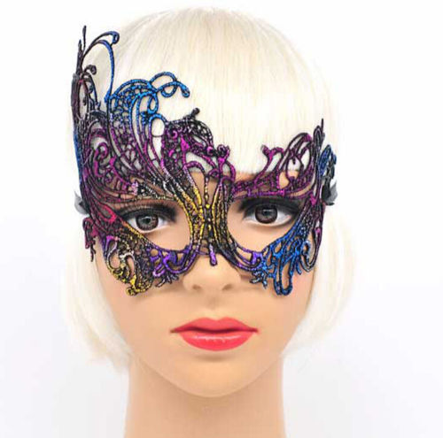 Halloween Dress Sexy Costume Masque Gold Eye Mask For Party Mask Venetian Carnival Mask Masquerade Mardi Gras Lace Masks Ball