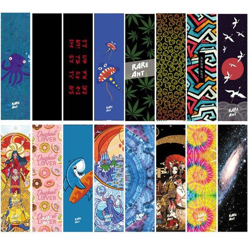 New Professional Skateboard Grip tape 84*23cm Multi Graphic Griptapes For Scooter Sandpaper Skate Deck Grips Stickers