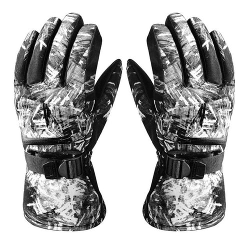 Waterproof Ski Gloves Men Women Warm Skiing Snowboard Gloves Snowmobile Motorcycle Riding Winter Outdoor Snow Gloves