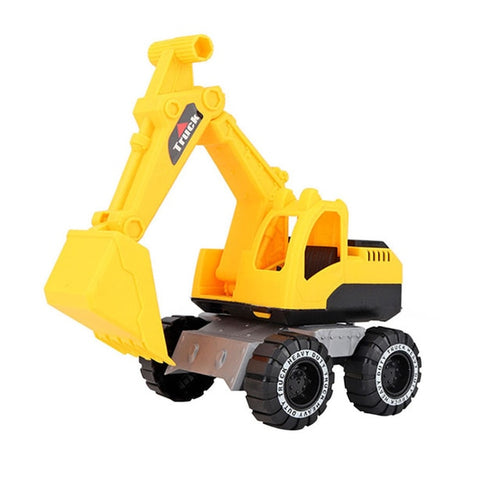 Baby Classic Simulation Engineering Car Toy Excavator Model Tractor Toy Dump Truck Model Car Toy Mini Gift for Boy