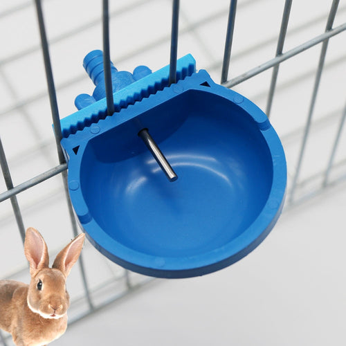 1 Pc Plastic and Stainless Steel Hamster Rabbit Drinking Bowl Hanging Cage on The Water Outlet with Tee Pipe Fox Drinking Trough