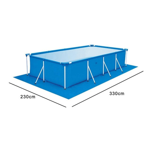 500*300CM Above Ground Pool Ground Cloth Pool Inflatable Cover Accessory Swimming Pool Floor Cloth Ground Fabric