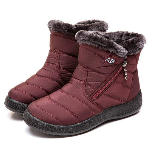 Women Boots 2019 New Waterproof Snow Boots For Winter Shoes Women Casual Lightweight Botas Mujer Warm Winter Boots