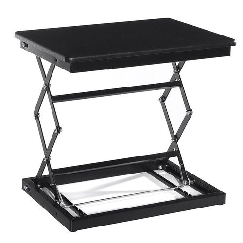 Height Adjustable Standing Desk Laptop Monitor Riser Computer Table Stand Tray Home Office Lapdesks Holder For Computer Monitor