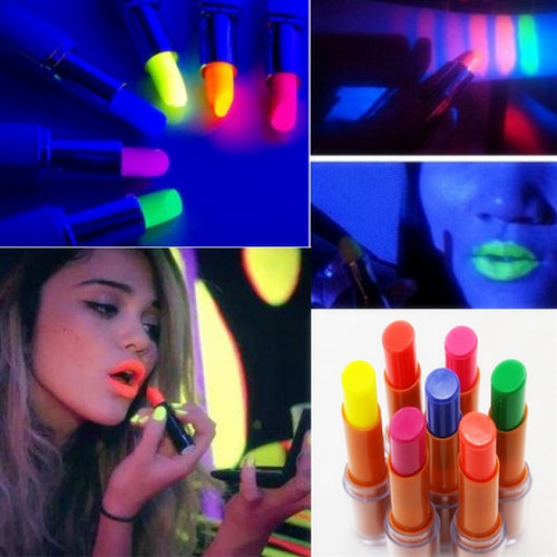 Luminous Glow Lipstick Lip Stick Fluorescence In Dark For Stage Nightclubs Performance Party Makeup Rave Led Party Favors