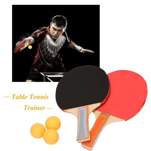 Portable Table Tennis Training Practise Machine Home Indoor Soft Shaft Ping Pong Trainer for Teenagers Kids Children Beginners