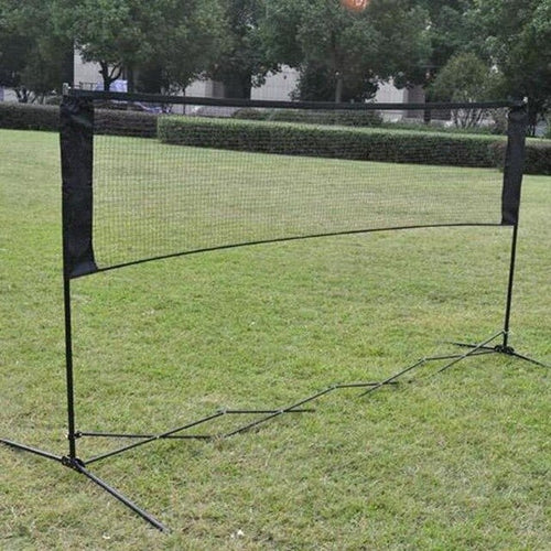 Outdoor Standard Badminton Net Sports 5.9M*0.79M Professional Training Square Mesh Standard Badminton Net Dark Red Green Color