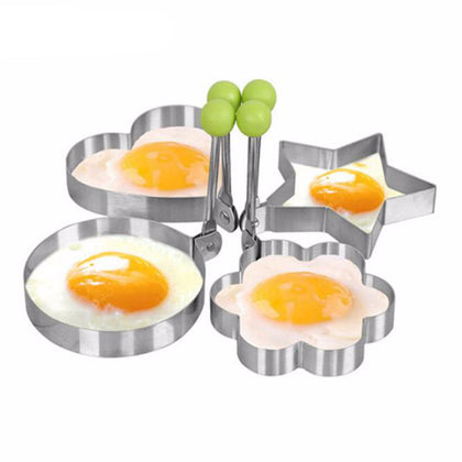 Stainless Steel Fried Egg Shape Stencil