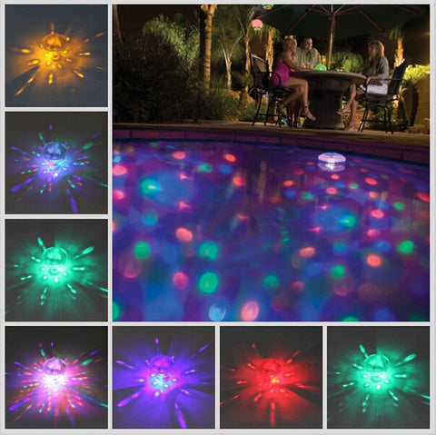 LED Light Dispersing Water Globe