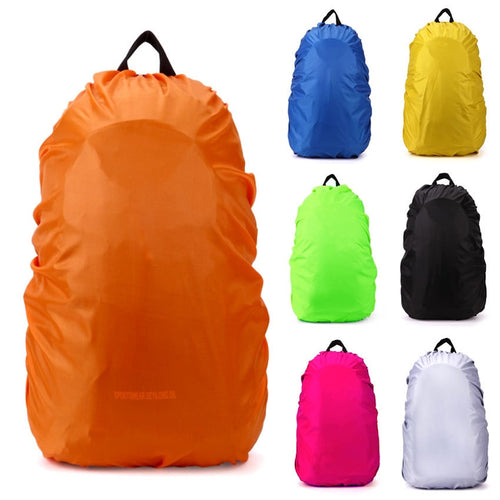 Backpack raincover 35L Strong Waterproof PVC raincover for Hiking Cycling Camping Luggage Bag Travel Kits Suit