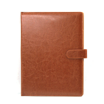 A4 Clipboard Folder Portfolio Multi-function Leather Organizer Sturdy  Office Manager Clip Writing Pads Legal Paper Contract