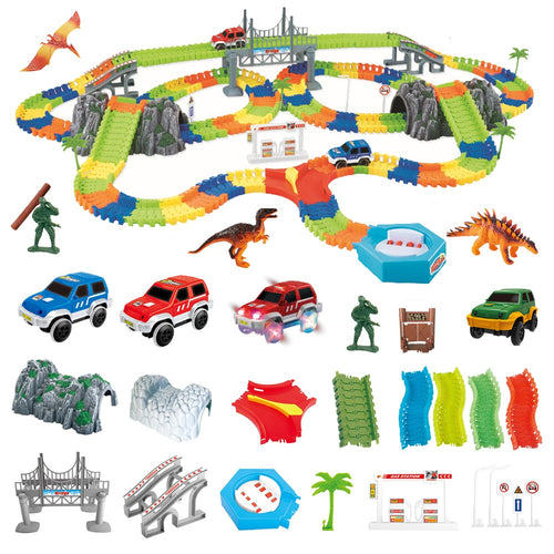 5.5cm DIY Racing Track Toy Universal Accessories for Magic Track Educational Rail Car Toy Racing Tracks Toys for Children Gifts