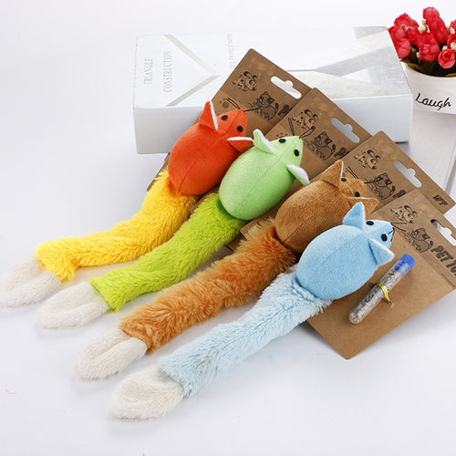 Pet Cat Toy Interactive Cats Teaser Toys Long Tail Mouse Toy Scratch Playing Training Toys Catnip For Kitten Mice Rat Product