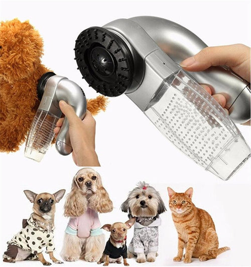 Portable Electric Pet Dog Cat Hair Cleaning Machine Shed Pal Grooming Clean Hair Combs Remover Pet Tool