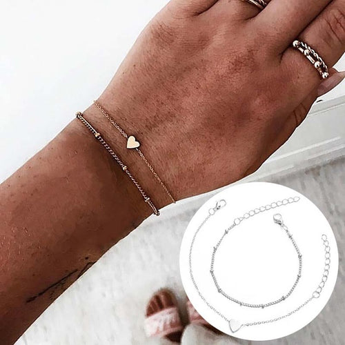 New Arrival Bracelet Sets Minimalist Gold Silver Color Hollow Lotus Bangle Bracelets Gift for Women Exquisite Party Jewelry