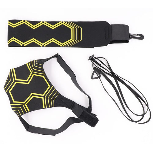Volleyball Training Equipment Aid great trainer for solo practice of serving tosses Returns ball Adjustable cord waist length