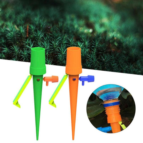 Automatic Watering Spike for Plants Flower Auto Drip Irrigation Watering System Indoor Waterers Bottle Drip Irrigation