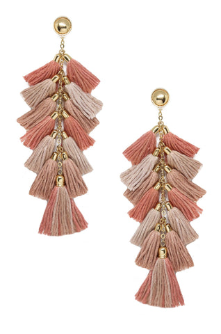 Time to Tassel Earrings