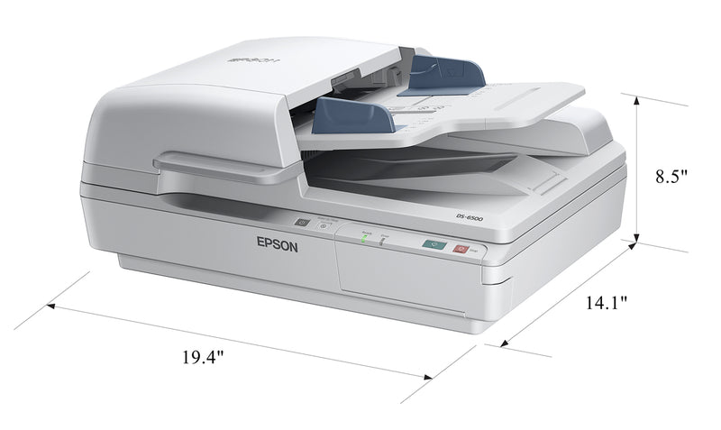 Epson WorkForce DS-6500 Flatbed Document Scanner with Duplex ADF - Benson Computers
