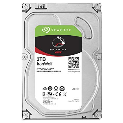 SEAGATE IRONWOLF (3TB) ST3000VN007 HARD DRIVE