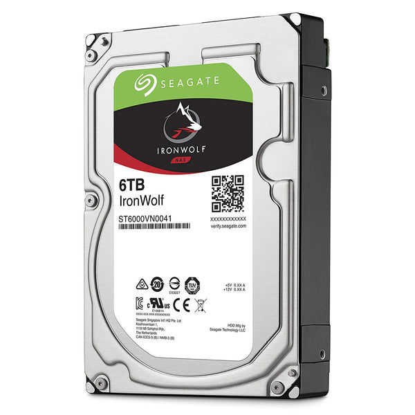 SEAGATE IRONWOLF (6TB) ST6000VN0041 HARD DRIVE