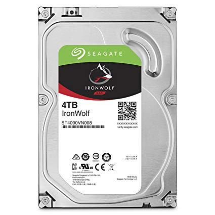 SEAGATE IRONWOLF (4TB) ST4000VN008 HARD DRIVE